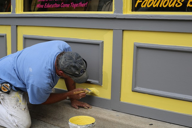 artisan peintre en bâtiment
