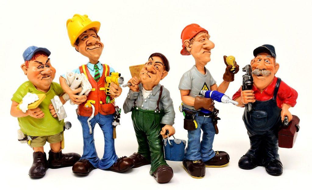 artisan professionnel figurines metiers