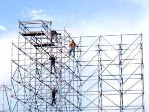 Choisir un échafaudage pour la réalisation des travaux de bâtiment à étage